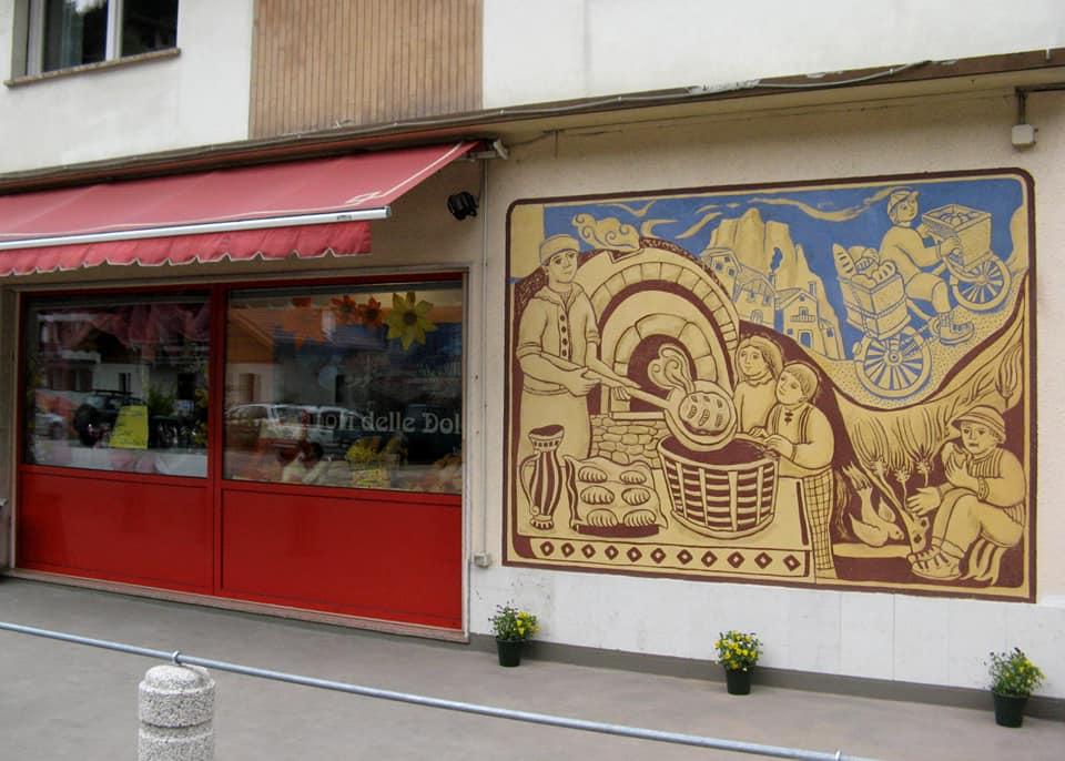 La storia del Pane - Dunio Piccolin Agordo Paese del Graffito
