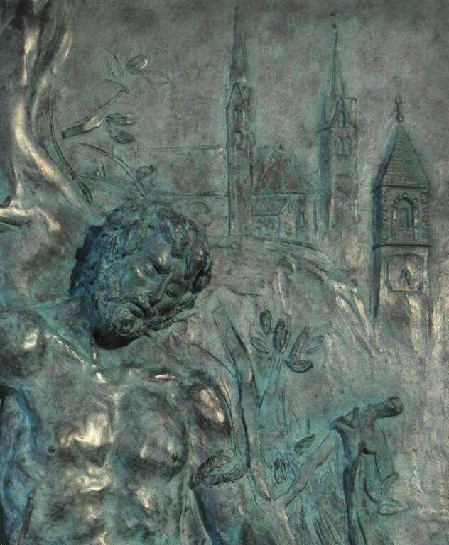 S. Sebastiano formella - Franco Murer