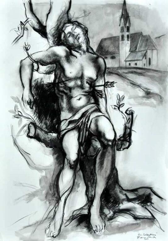 Disegno progettuale S. Sebastiano - Franco Murer
