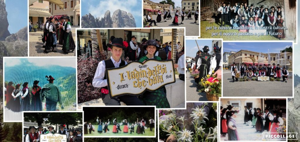 Gruppo folk delle Dolomiti : I ladin del poi che bala
