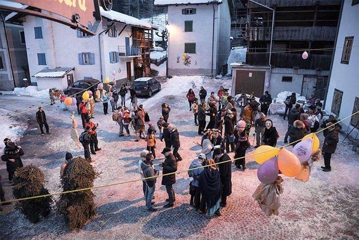 Carnevale Agordino - Mascorèda a Sottoguda