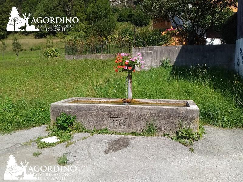 fontana La Valle Agordina