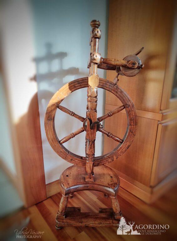 La roda in pè - Molinello da filare