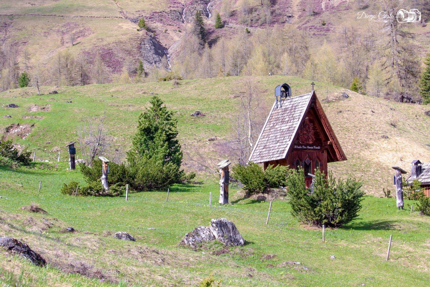 La chiesetta di Valfredda Diego Costa