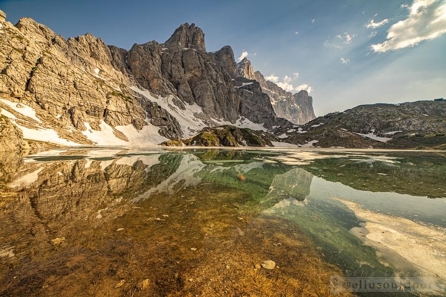 Lago Coldai - Civetta - Dolomiti