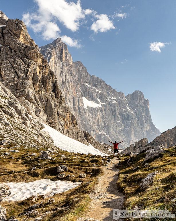 Monte Civetta, Alta Via n. 1 delle Dolomiti