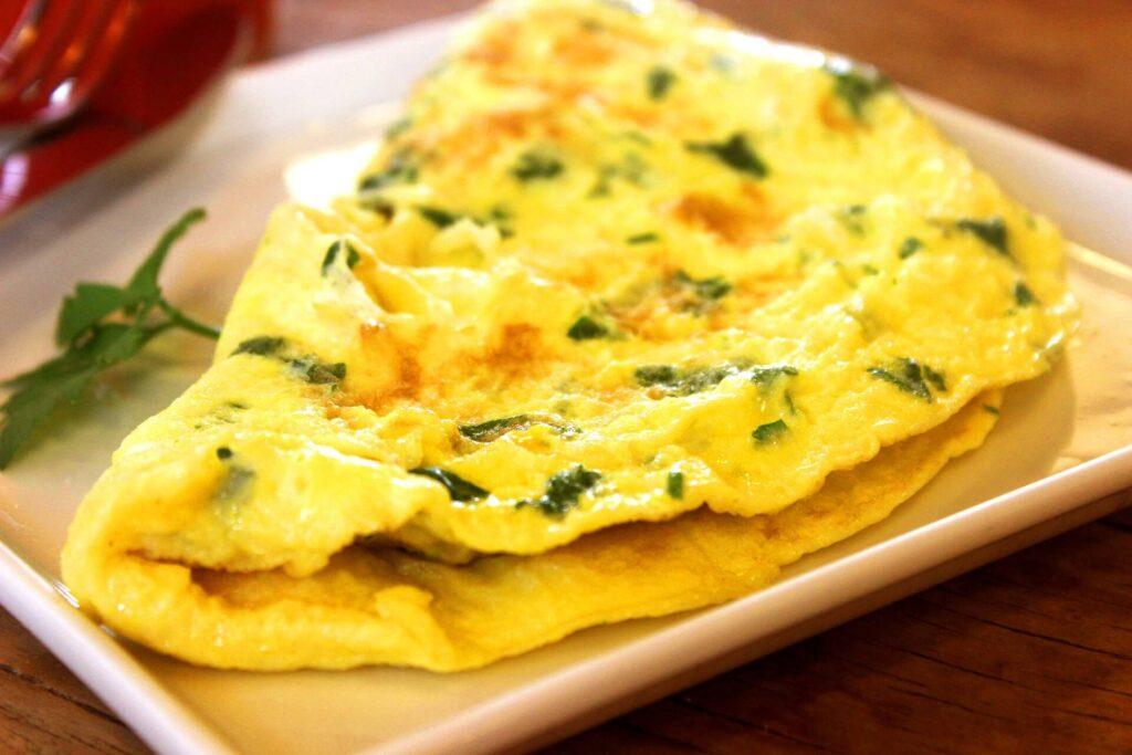 Frittata all'ortica - Ricette tipiche Agordine