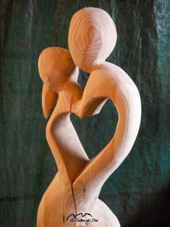 Le Sculture del Foia - Power of Love di Marco Valt