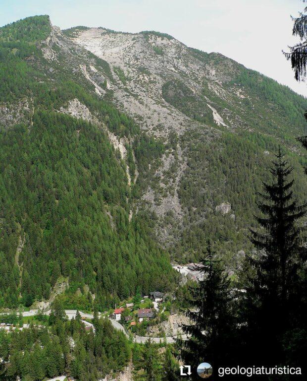 Frana del Monte Piz, Lago di Alleghe-Rocca Pietore