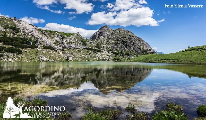 Il laghetto al passo Valparola di Ylenia Vassere