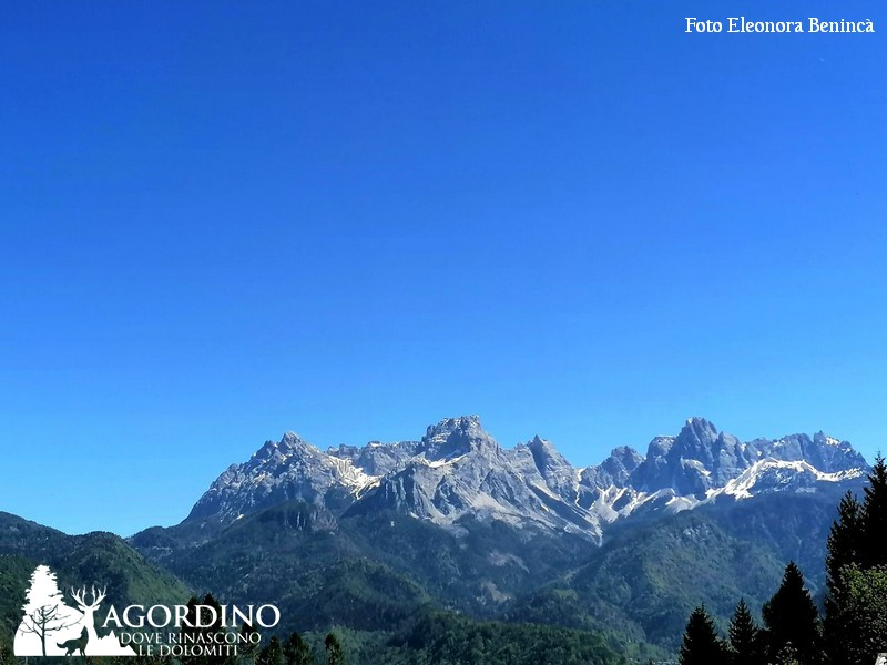 Punto Panoramico sul S. Sebastiano a Voltago Agordino