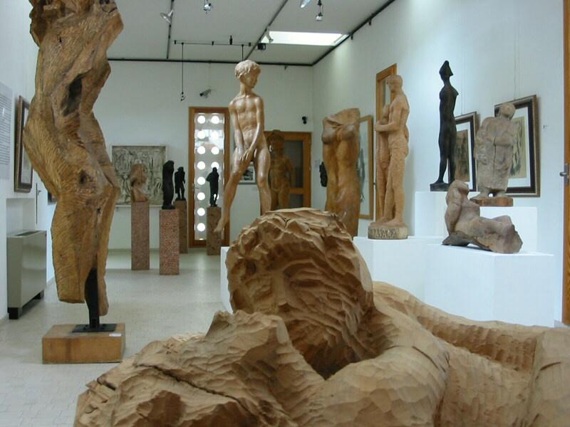 Interno del museo Augusto Murer - Falcade