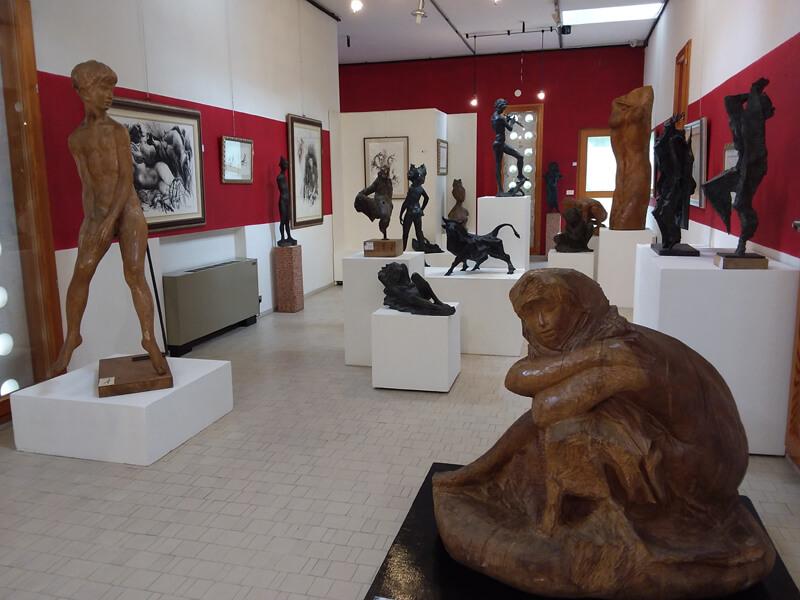 Interno del museo Augusto Murer - Falcade Foto : © Archivio Associazione Erma - Museo Augusto Murer