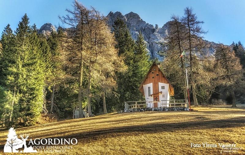 Chiesetta degli Alpini al Passo Duran La Valle Agordina