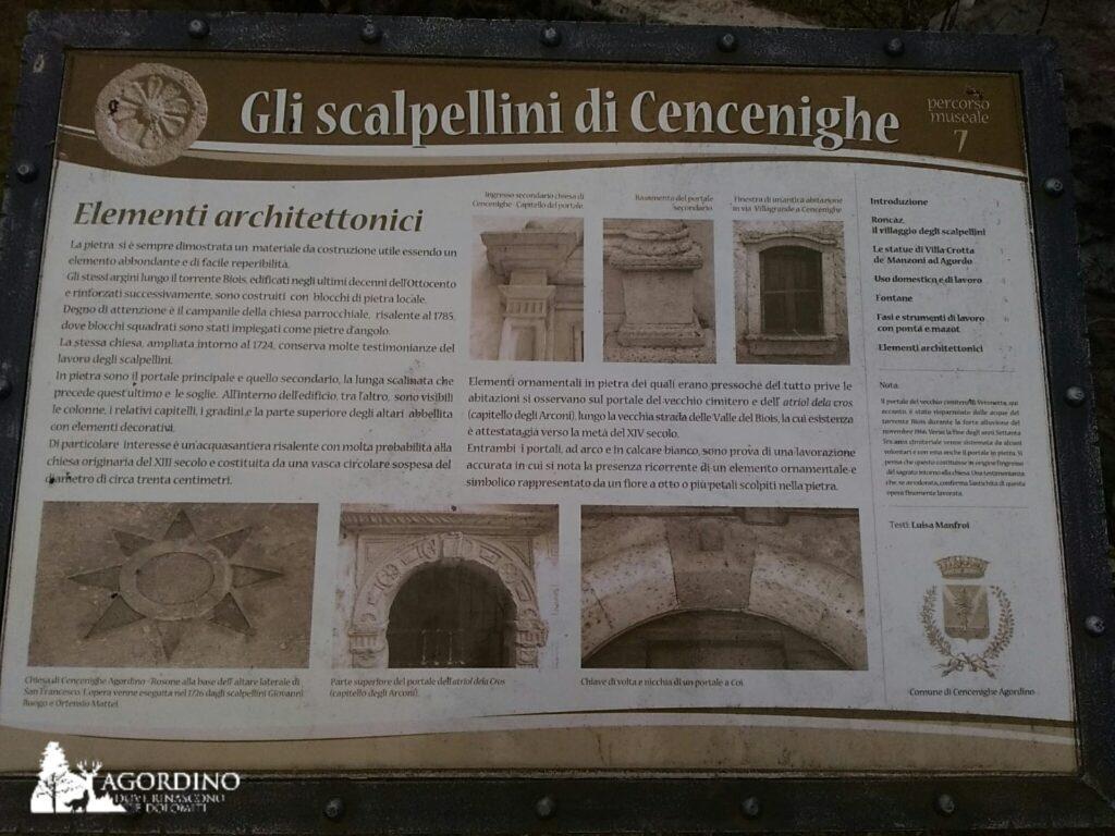 Museo degli Scalpellini - Cencenighe Agordino