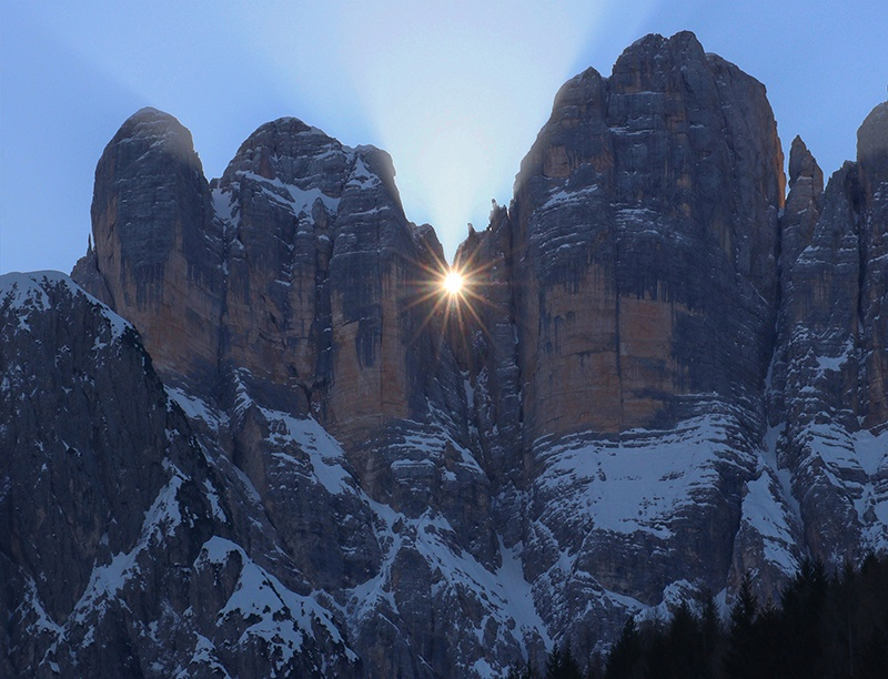Equinozio di Primavera sul Monte Civetta - Simone Prà
