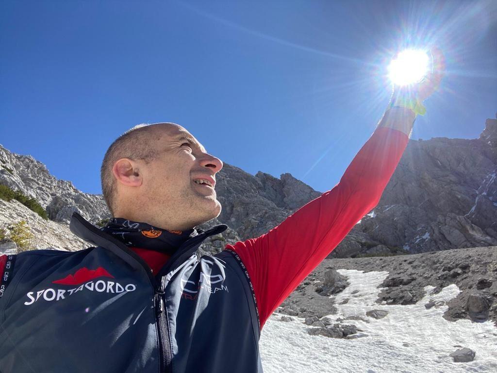 William Da Roit Runner -Ambasciatore Agordino dove rinascono le Dolomiti