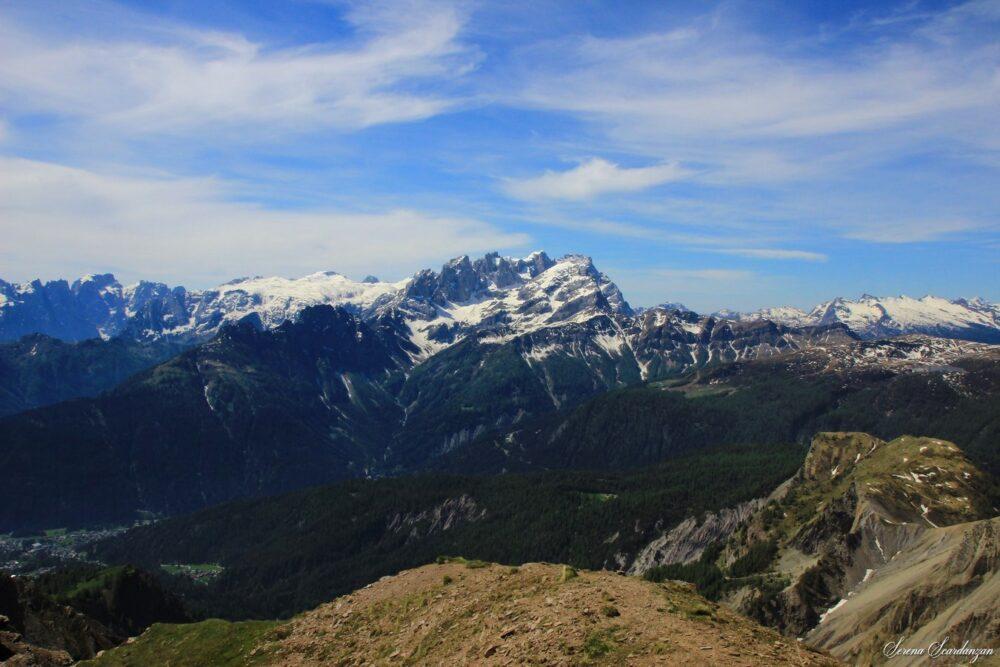 Vista sulla Valle Del Biois di Serena Scardanzan