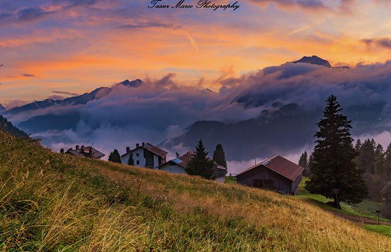 Panorama da Colcuc Agordino Dove Rinascono Le Dolomiti