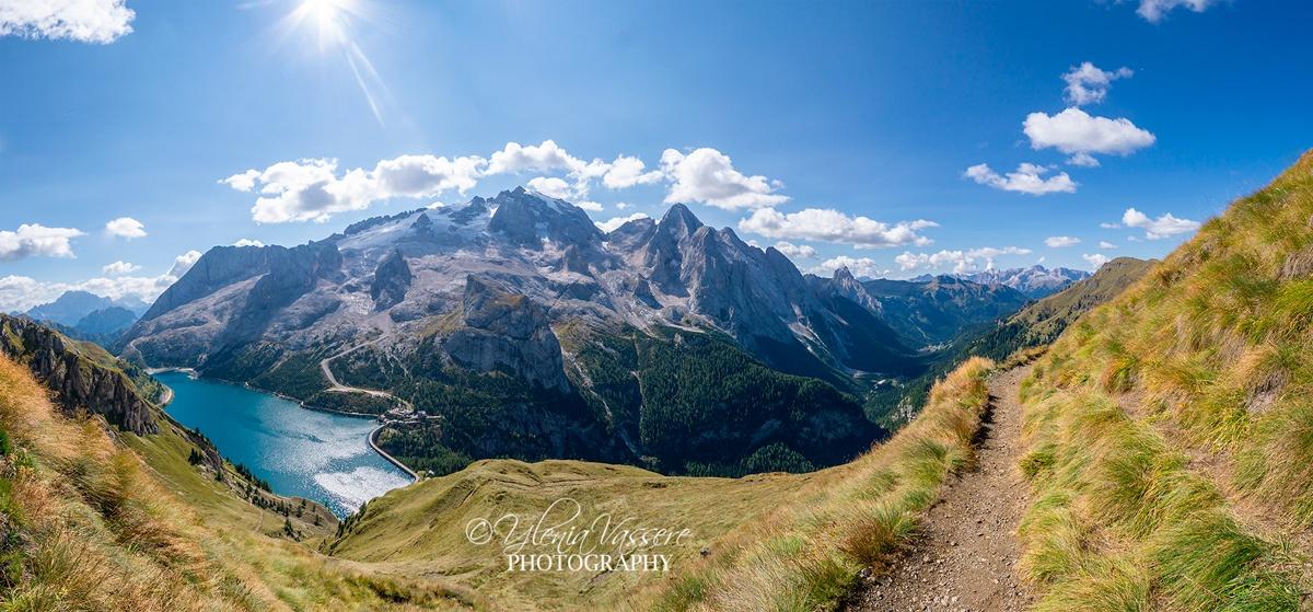 Viel-del-Pan Dolomiti Lago alpino