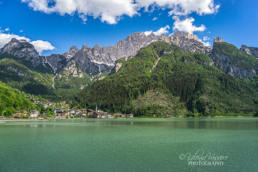 Il lago di Alleghe - Dolomiti Agordine