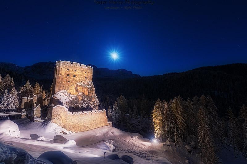 Il Castello di Andraz - Dolomiti- Marco Tasser
