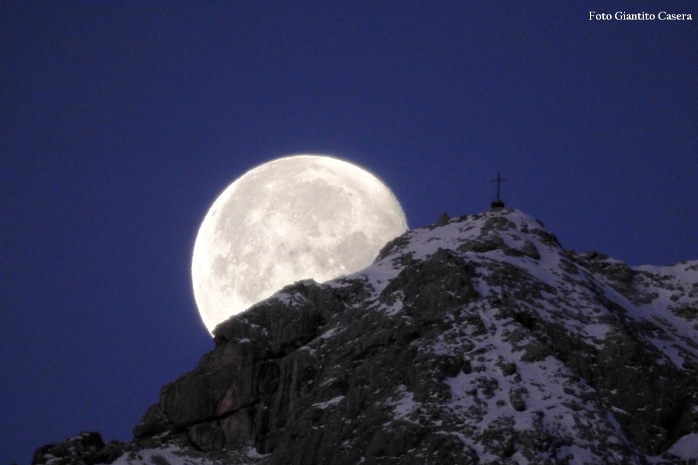 Luna tra i Monti Pallidi , Agner - Giantito Casera