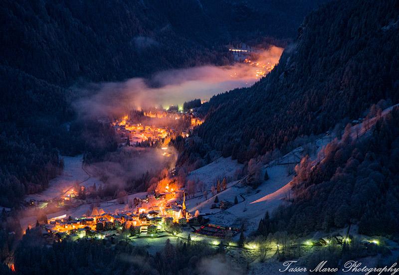 Inverno Rocca Pietore Agordino Dove Rinascono Le Dolomiti