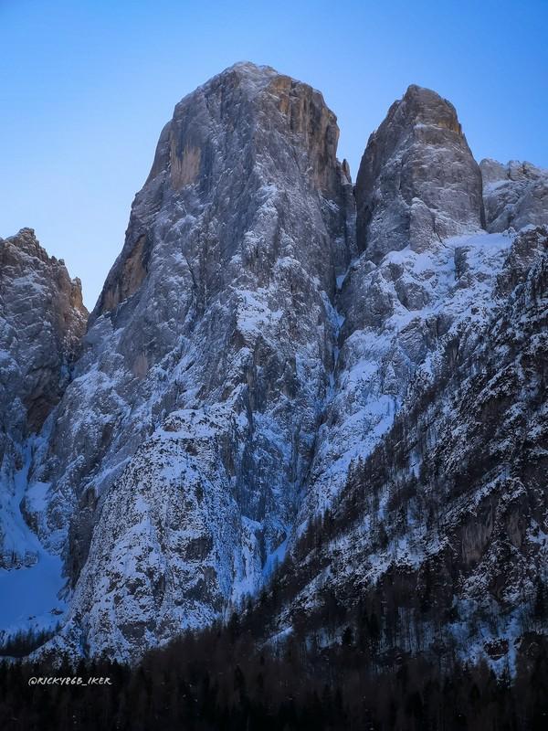 Lato sud dell'Agner Agordino Dove Rinascono Le Dolomiti