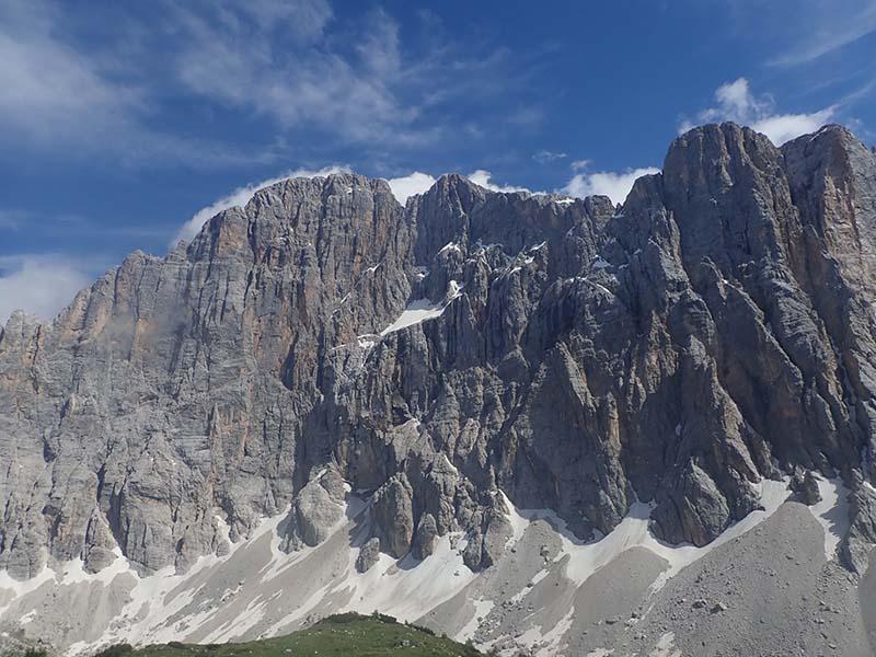 Civetta, la parete delle Pareti, Dolomiti