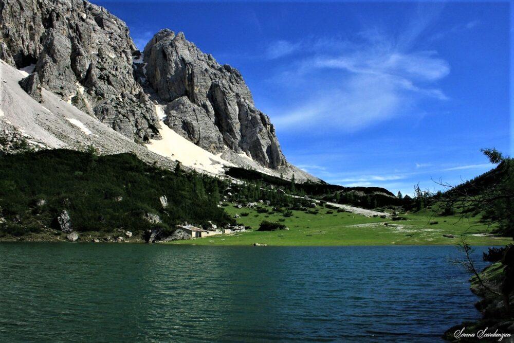 Il lago fantasma al Pian de La Lora di Serena Scardanzan