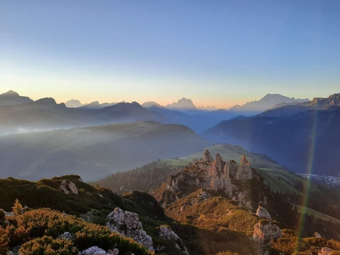 Escursione guidata Alba ai Bec de Roces