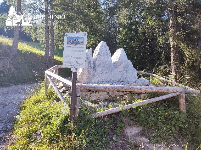 Tre Cime di Lavaredo - Le Dolomiti in miniatura a San Tomaso Agordino ph. Ylenia Vassere