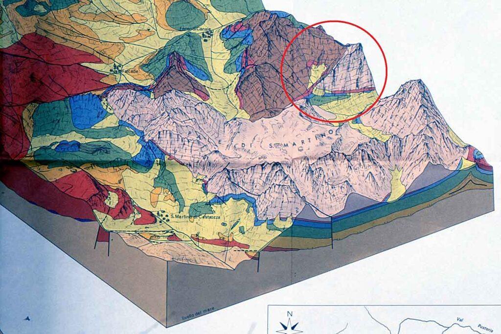 Valle di Gardes- Geologia