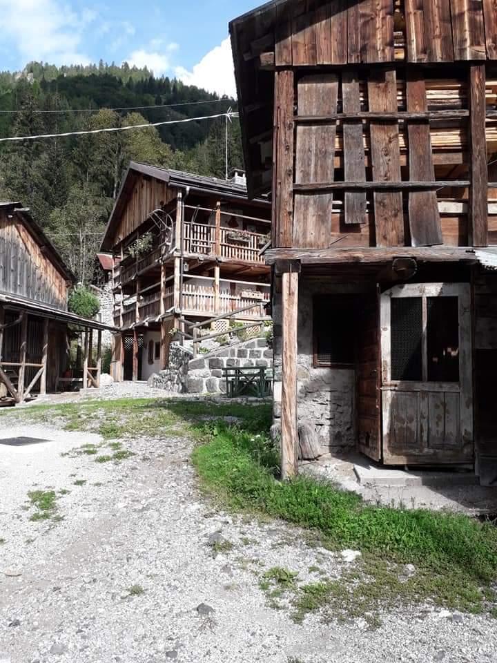 Il villaggio di Palue - Rocca Pietore
