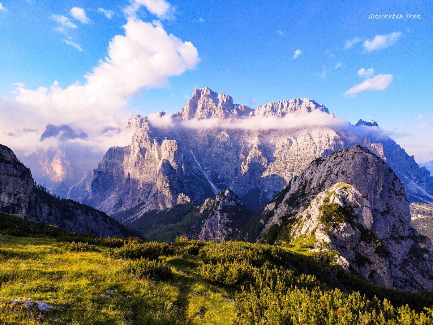 Moiazza lungo l'Alta via delle Dolomiti