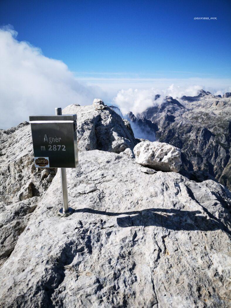 Cima Agnèr - 2872 m