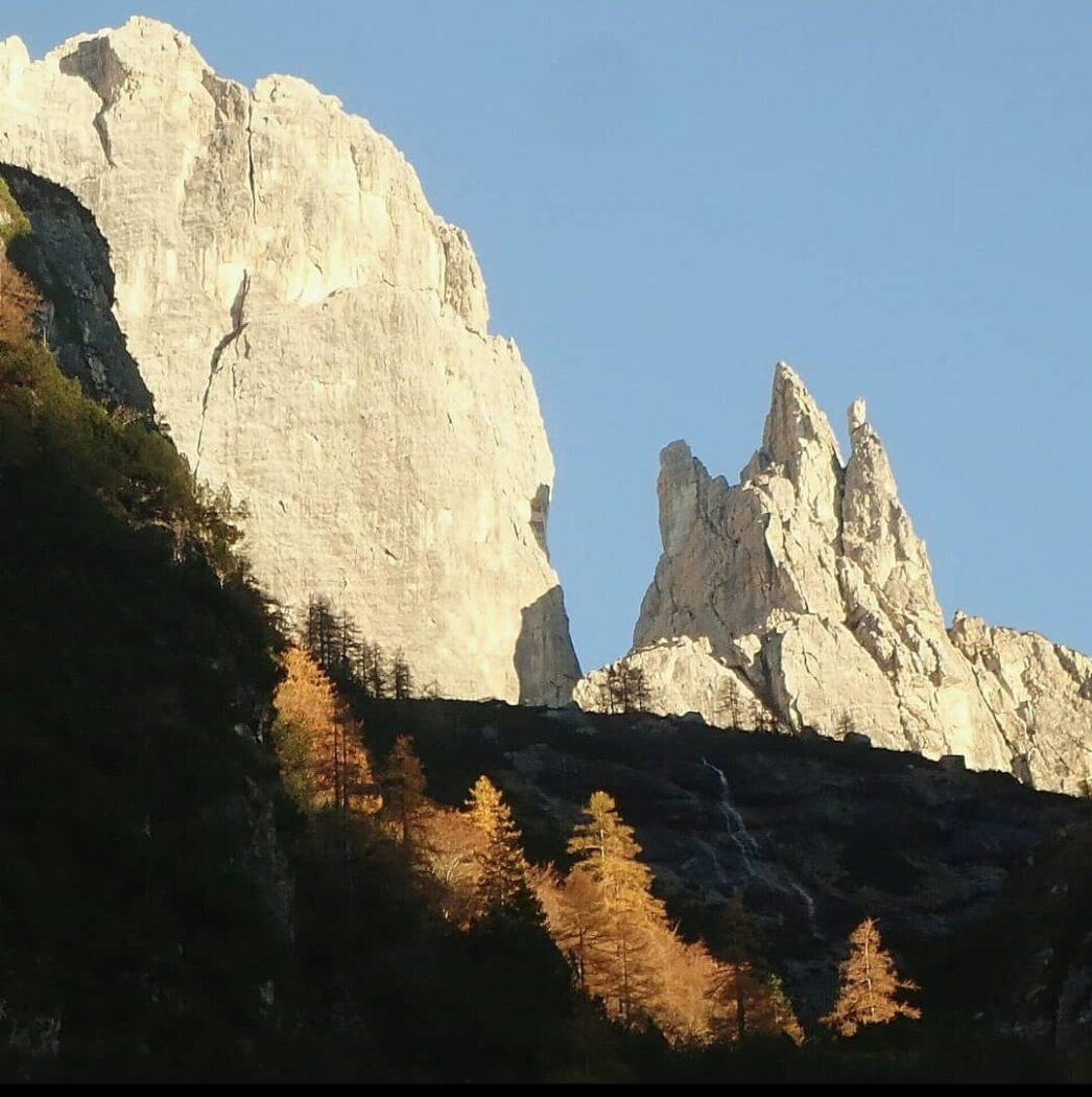 Tridente Moiazza, Dolomiti