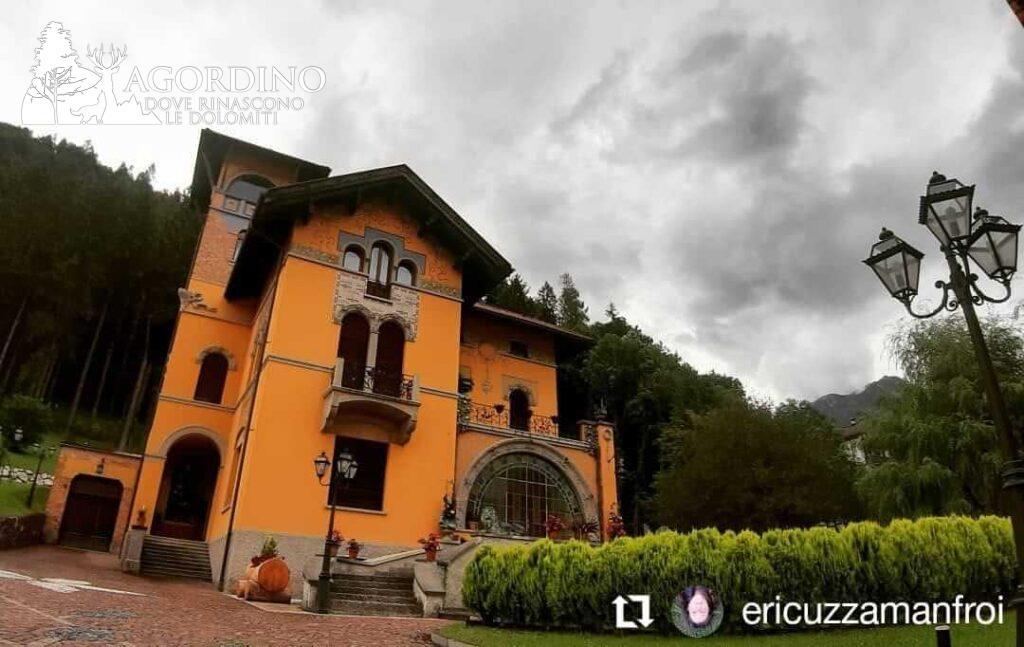 La villa dei Misteri - Villa Fiore ad Agordo