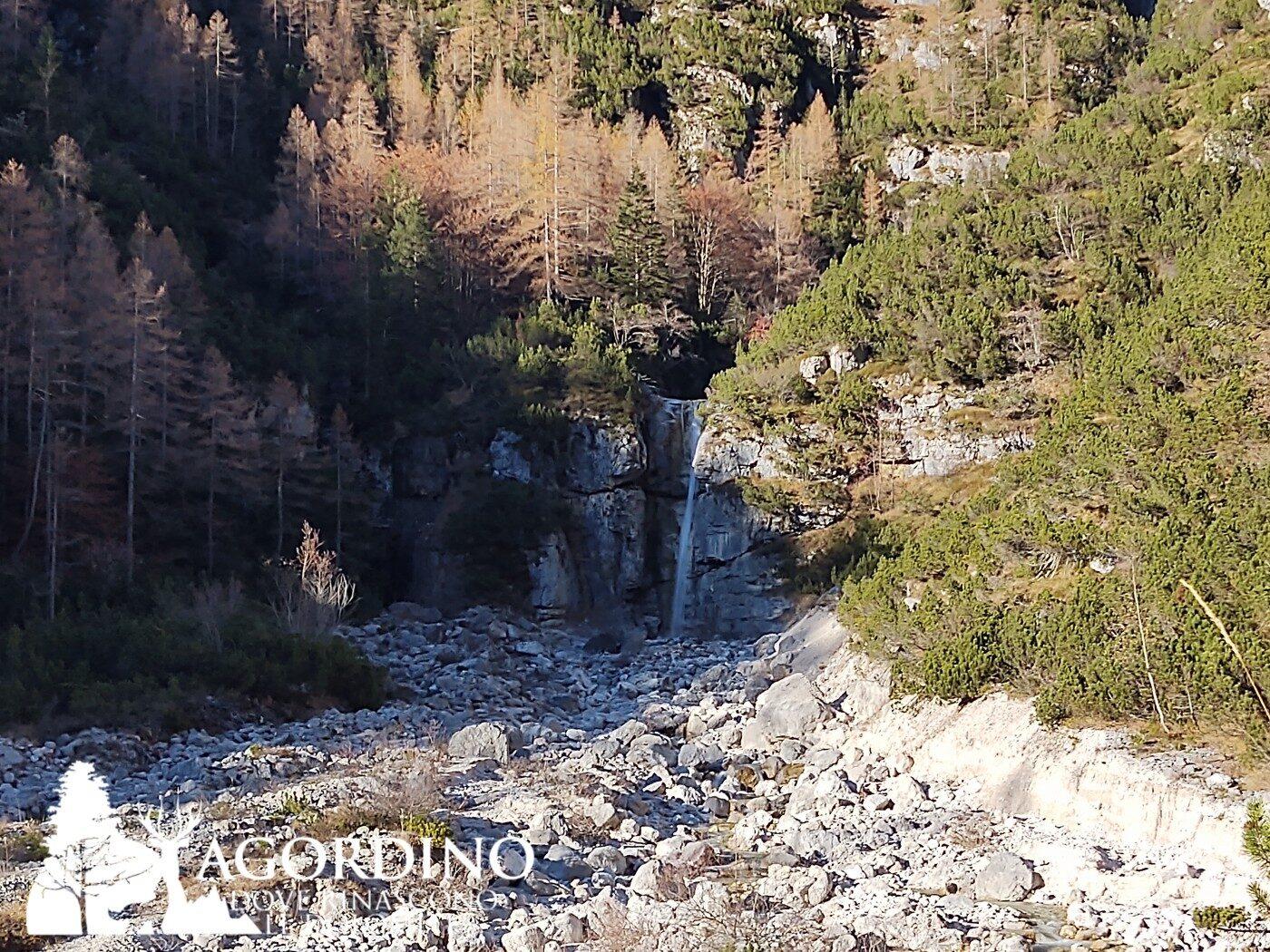 La cascata della Val Corpassa - Progetto Dolomia