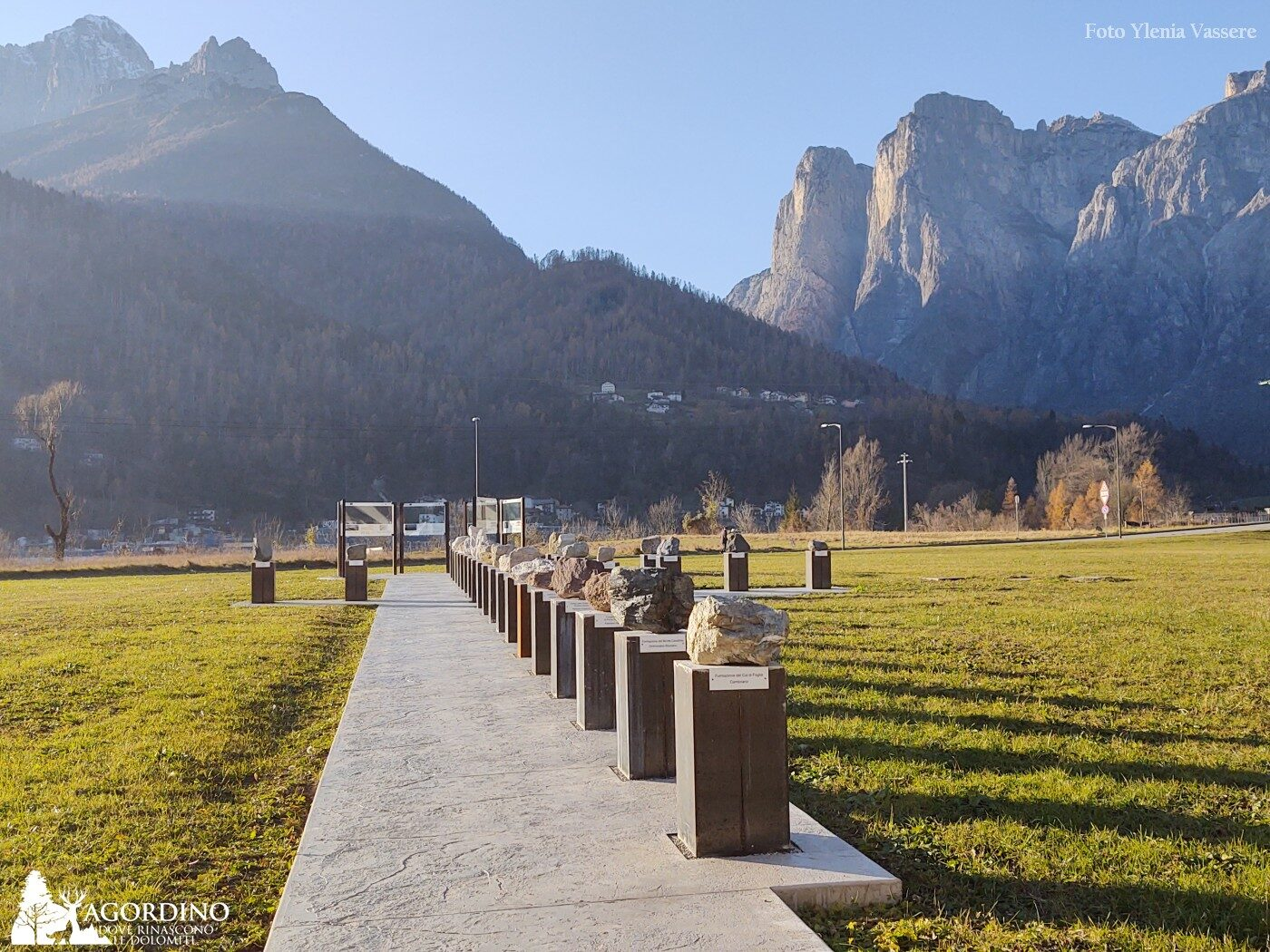 La via della Dolomia - I 27 campioni di rocce