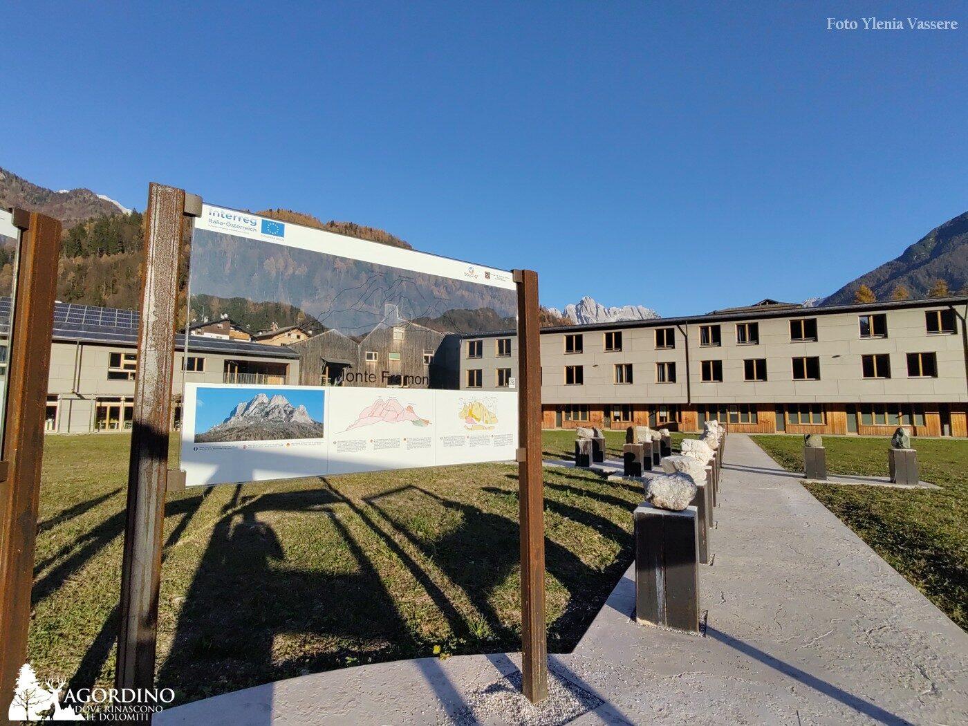La via della Dolomia -La stazione geoturistica del Follador