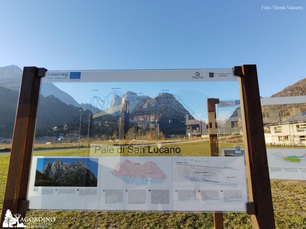 La via della Dolomia - Pannelli trasparenti