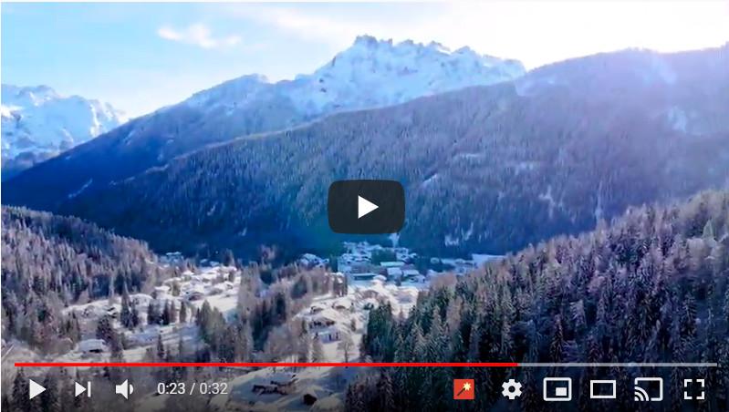 La magia della neve in Val Biois