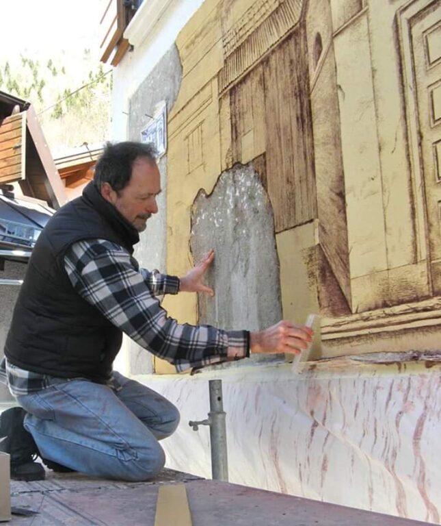 Samuele Vanni Agordo - Paese del Graffito