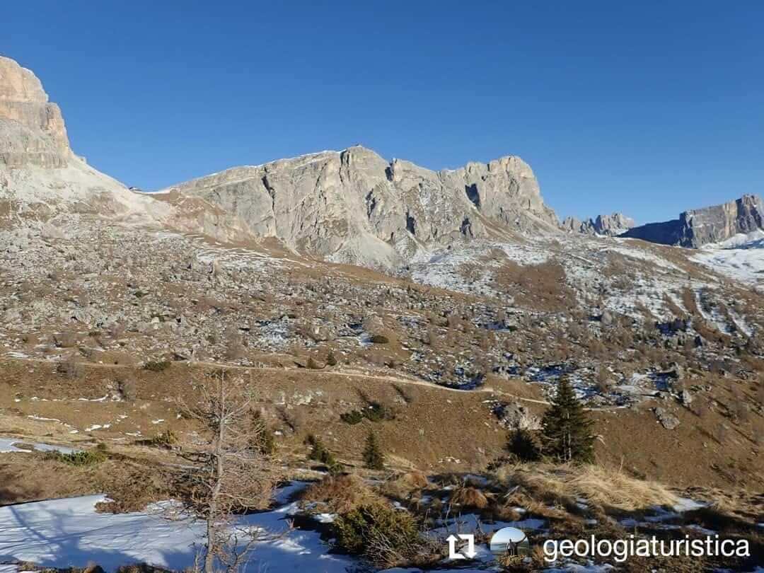 Ghiacciaio di roccia, Averau, Nuvolau, Fedare, Colle S. Lucia