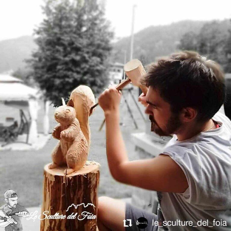 Le sculture del Foia - La Schirata e le Sgubia di Marco Valt