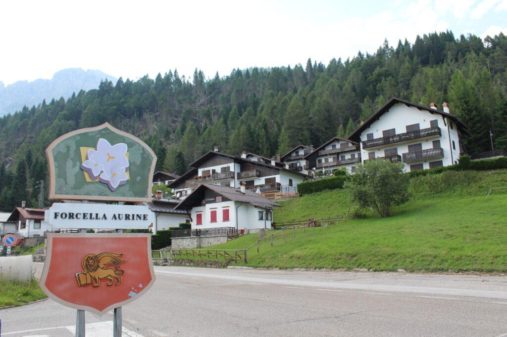 Forcella Aurine Gosaldo - Parco nazionale Dolomiti Bellunesi