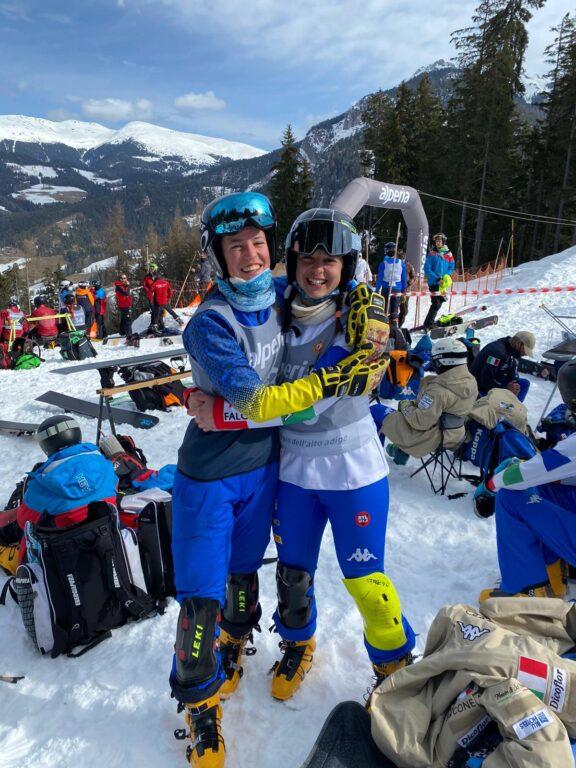 Isabel Murer e Lucia Dalmasso - Coppa Europa di snowboard