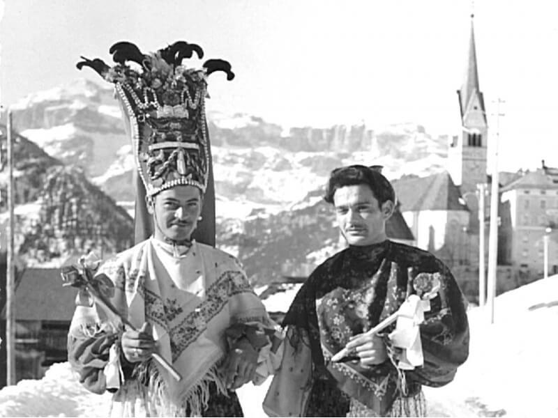 Carnevale Agordino - Matacinch e Lachè a Laste ( Rocca Pietore )